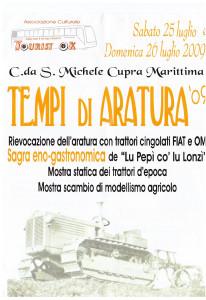 Tempi di Aratura 2009 - locandina