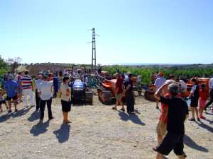 Tempi di Aratura 2009 - Esposizione trattori