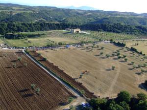 Tempi di Aratura 2009 - panoramica aerea