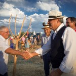 Tempi di Aratura 2015 - Scene di vita contadina: arriva il fattore
